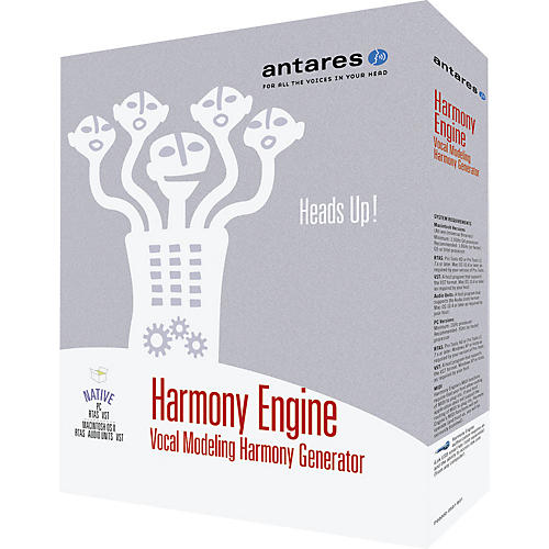 Antares Harmony Engine Vocal Modeling Harmony Generator