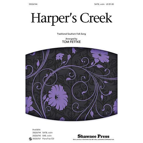 Shawnee Press Harper's Creek SATB arranged by Tom Fettke