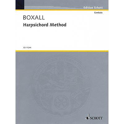 Schott Harpsichord Method (for Harpsichord or Spinet) Schott Series Softcover