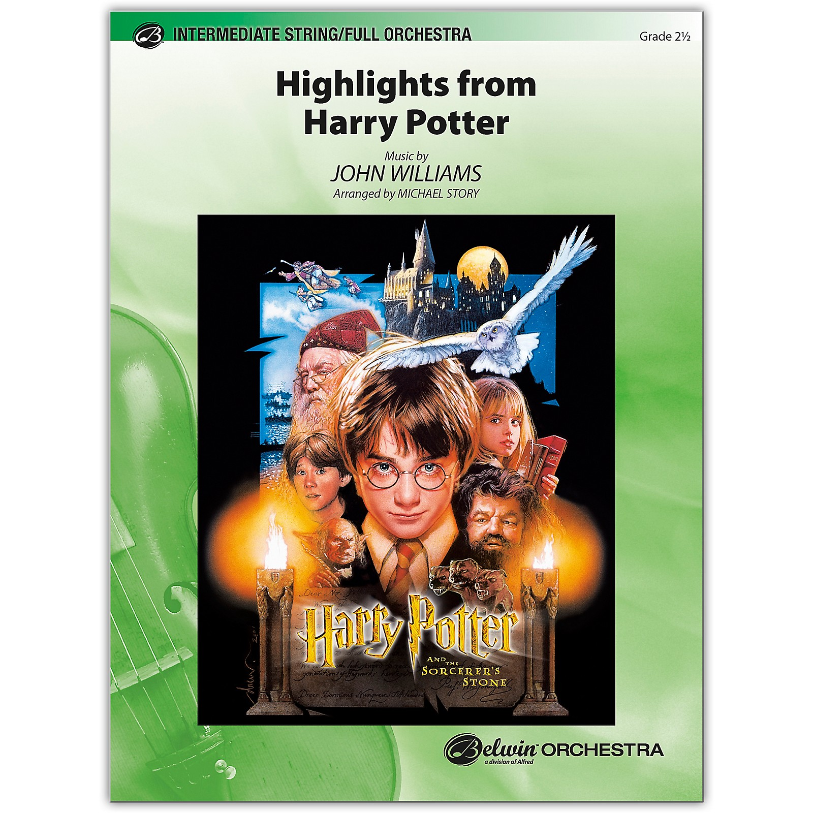 BELWIN Harry Potter, Highlights from 2.5