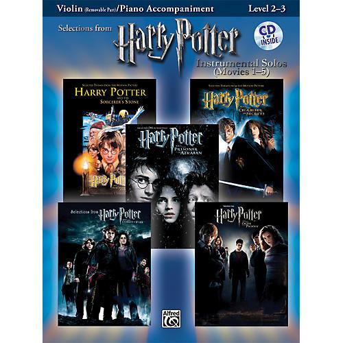 Alfred Harry Potter Instrumental Solos - Movies 1-5 Violin