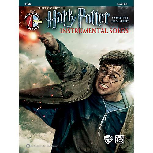 Alfred Harry Potter Instrumental Solos Flute - Book/CD