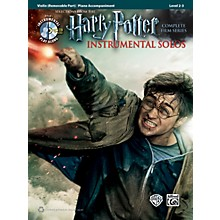 Alfred Harry Potter Instrumental Solos for Strings - Violin (Book/CD)