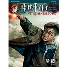 Alfred Harry Potter Instrumental Solos for Tenor Sax - Book/CD