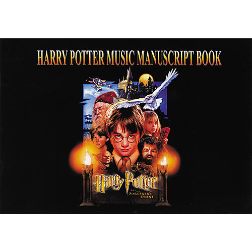 Alfred Harry Potter Music Manuscript Book