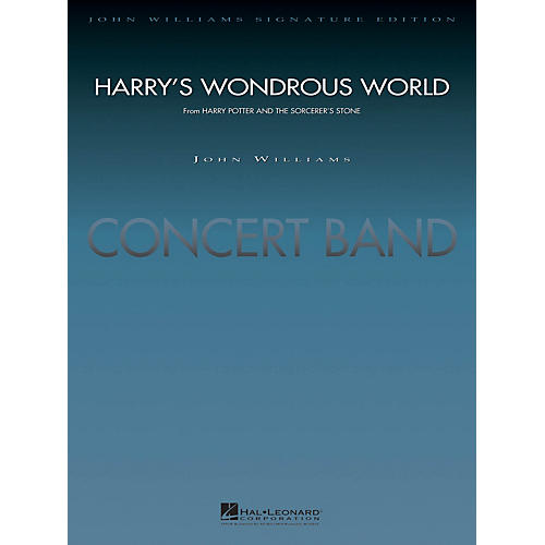 Hal Leonard Harry's Wondrous World (from Harry Potter and the Sorcerer's Stone) Concert Band Level 5 by John Williams