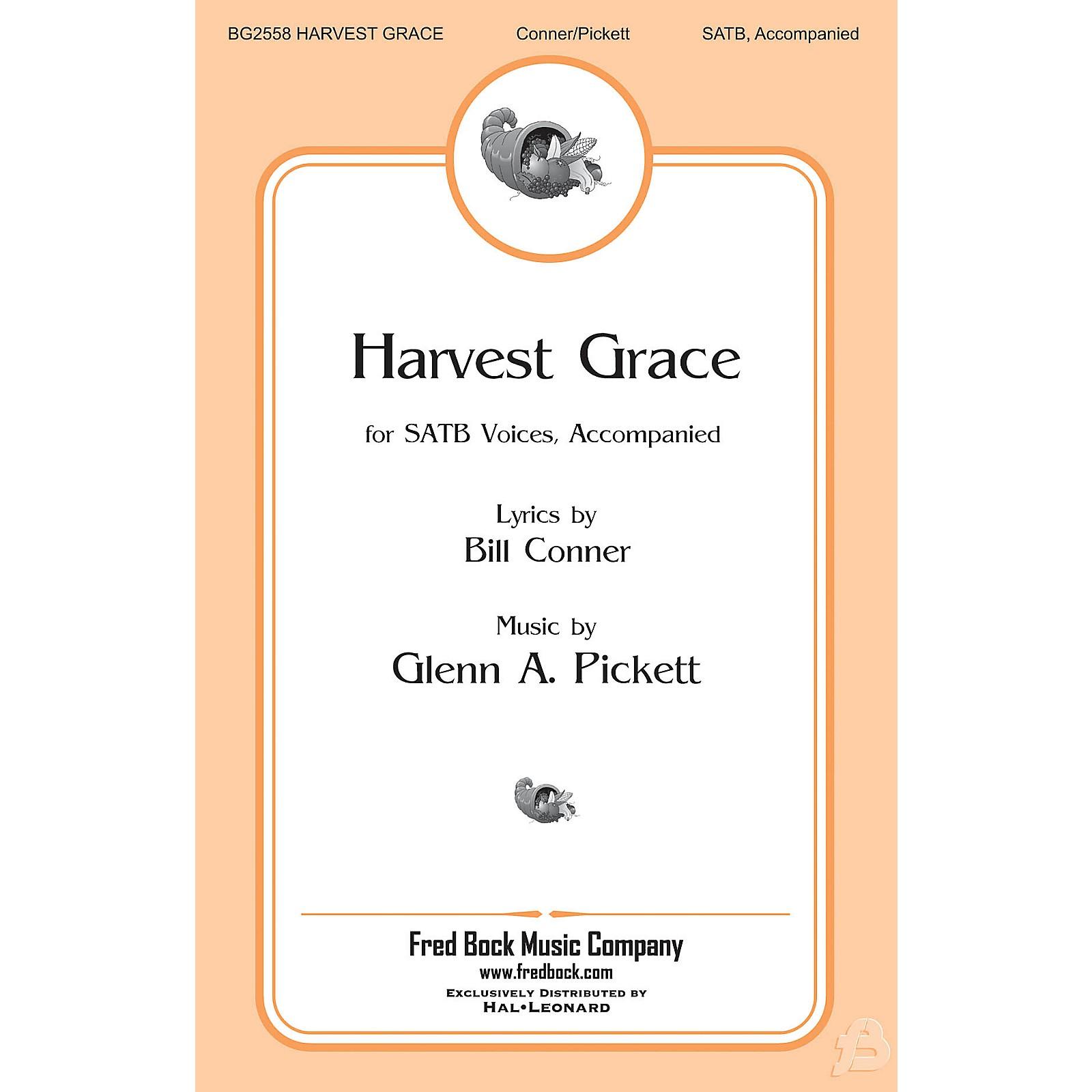 Fred Bock Music Harvest Grace SATB composed by Glenn Pickett