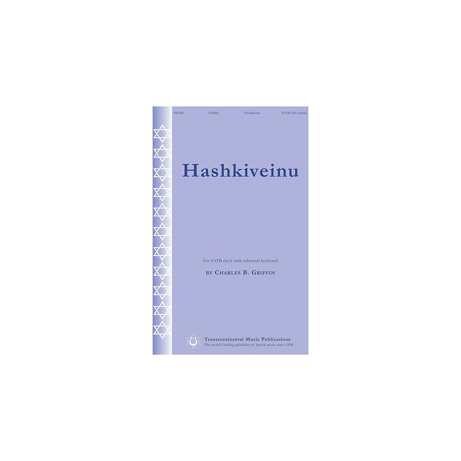 Transcontinental Music Hashkiveinu SATB composed by Charles Griffin
