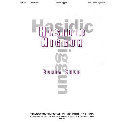 Transcontinental Music Hasidic Nigun SAB arranged by Bonia Shur