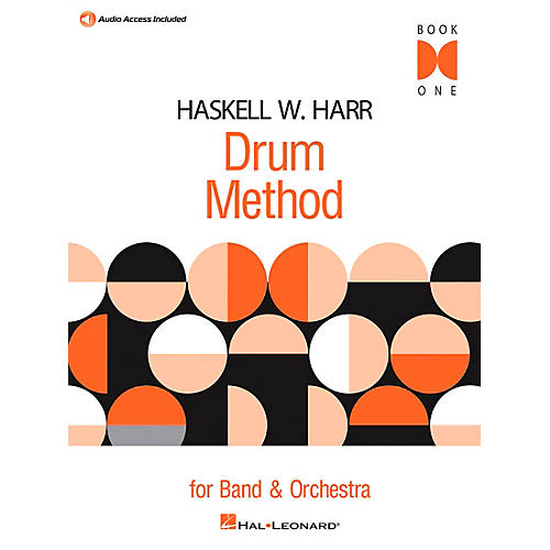Hal Leonard Haskell W. Harr Drum Method Book 1 with Online Audio