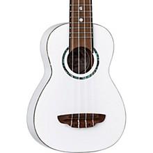 Open BoxLuna Guitars Hau Snow Soprano Ukulele