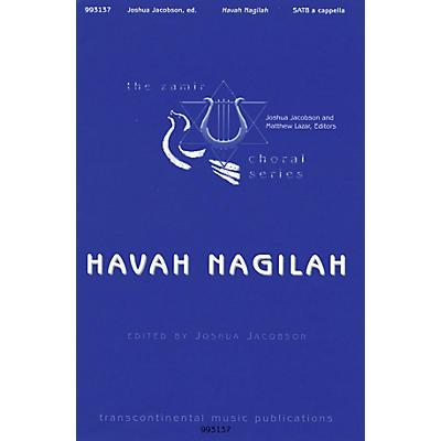 Transcontinental Music Havah Nagilah SATB a cappella arranged by Daniel Faktori/Joshua Jacobson