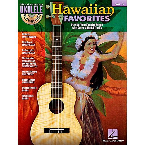 Hal Leonard Hawaiian Favorites Ukulele Play-Along Vol. 3 (Book/CD)
