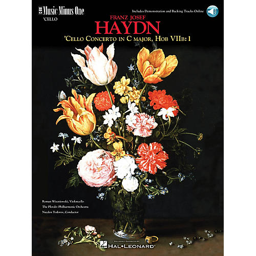 Music Minus One Haydn - Violoncello Concerto in C Major, HobVIIb:1 Music Minus One Softcover with CD by Roman Wiszniowski