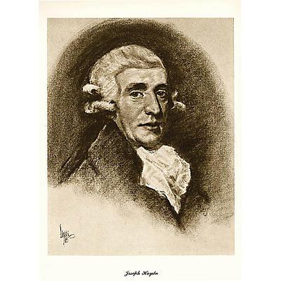 Music Sales Haydn (Lupas Large Portrait Poster) Music Sales America Series