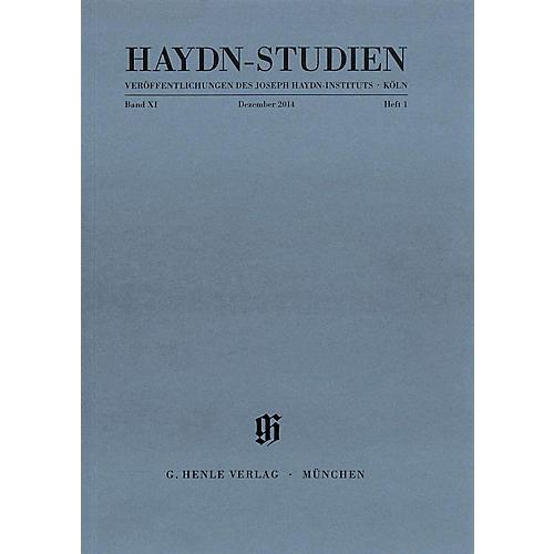 G. Henle Verlag Haydn Studien Series - Series II, Volume 1, December 2014 Henle Periodicals Softcover by Josef Haydn