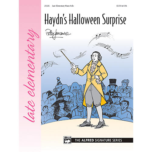Alfred Haydn's Halloween Surprise