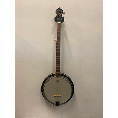 Hohner Hb-25 5-String Resonator Back Banjo Banjo