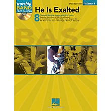 Hal Leonard He Is Exalted - Bass Edition Worship Band Play-Along Series Softcover with CD Composed by Various