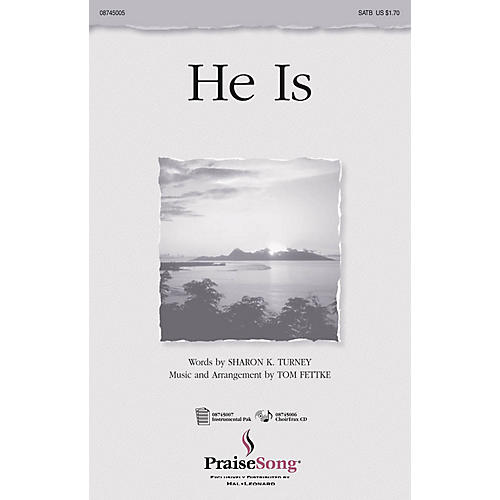 Hal Leonard He Is IPAKO Arranged by Tom Fettke