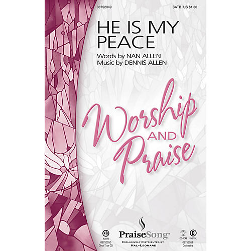 PraiseSong He Is My Peace ORCHESTRA ACCOMPANIMENT Composed by Dennis Allen