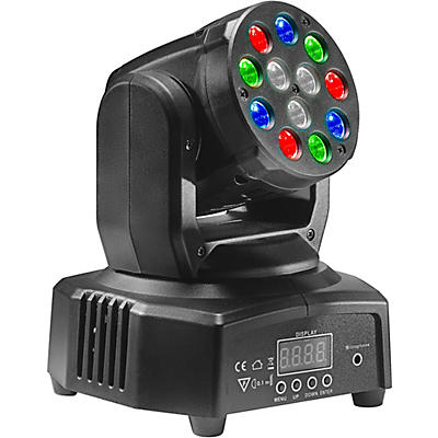 Stagg HeadBanger 6 RGB LED Moving-Head Spotlight