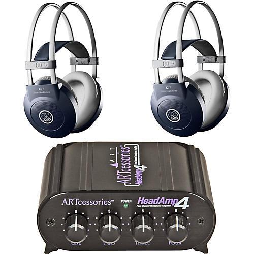 AKG Headamp 4/K77 Headphone Two Pack