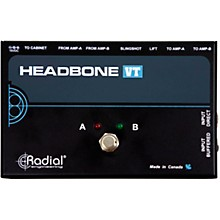 Open Box Radial Engineering Headbone VT Amp Head Switcher for Tube Amps