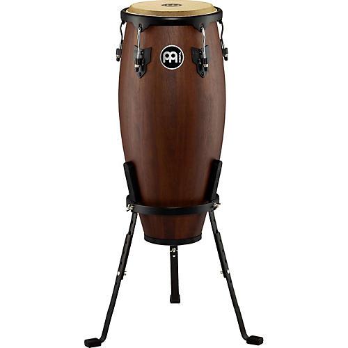 Meinl Headliner Designer Wood Conga with Basket Stand Vintage Wine Barrel 10 in.