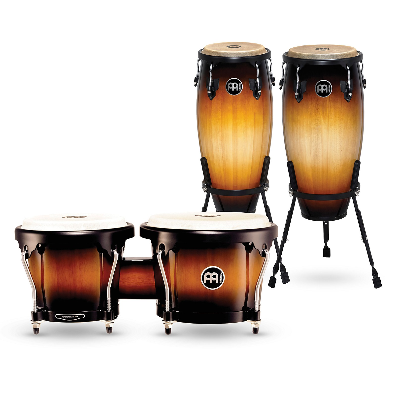 Meinl Headliner Series Conga Set with Free Matching Bongos
