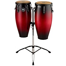 Headliner Wood Congas Set Wine Red Burst 10 and 11 in.