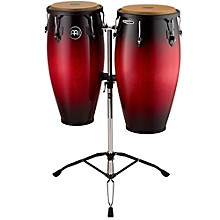 Headliner Wood Congas Set Wine Red Burst 11 and 12 in.