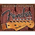Fender Headstock Tin Sign thumbnail