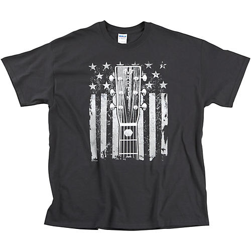Martin Headstock and Flag T-Shirt