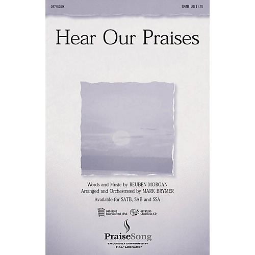 PraiseSong Hear Our Praises CHOIRTRAX CD Arranged by Mark Brymer