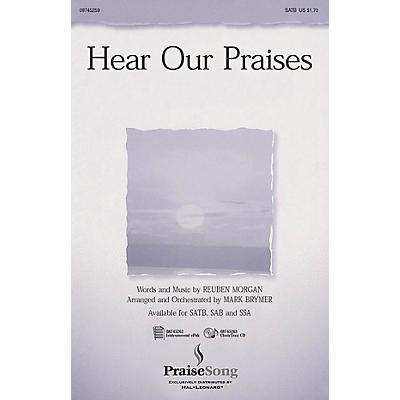PraiseSong Hear Our Praises SATB arranged by Mark Brymer
