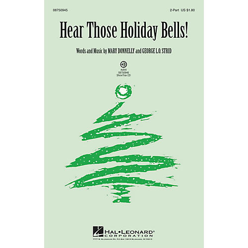 Hal Leonard Hear Those Holiday Bells! ShowTrax CD Composed by Mary Donnelly