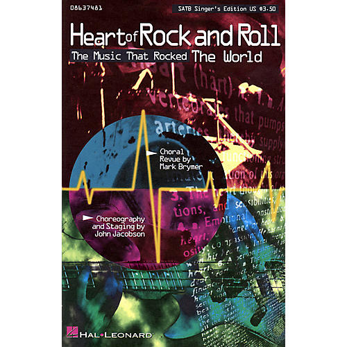 Hal Leonard Heart of Rock and Roll (Medley) 2 Part Singer Arranged by Mark Brymer