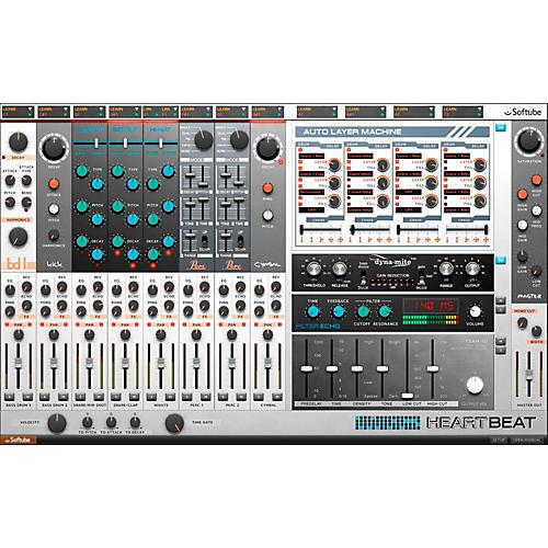 Softube Heartbeat Creative Drum Synthesizer