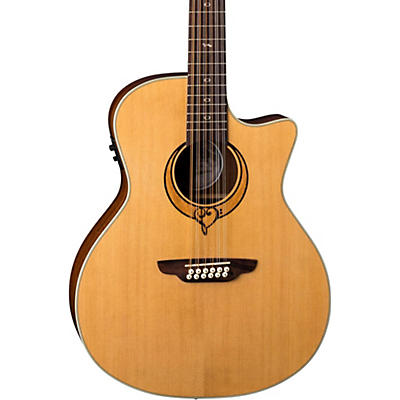 Luna Guitars Heartsong 12 String with USB Acoustic Electric Guitar