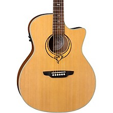 Open Box Luna Guitars Heartsong Grand Concert Acoustic-Electric Guitar
