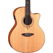 Luna Guitars Heartsong Grand Concert Acoustic Electric Guitar With USB