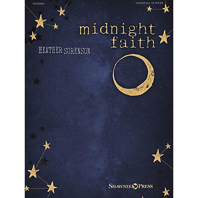 Shawnee Press Heather Sorenson - Midnight Faith Vocal/Piano Book/Media Online