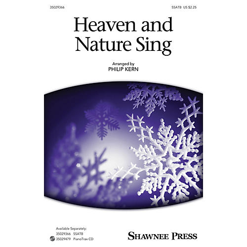 Shawnee Press Heaven and Nature Sing SSATB arranged by Philip Kern