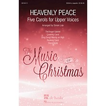 De Haske Music Heavenly Peace (Five Carols for Upper Voices) SSSAA A Cappella arranged by Simon Lole