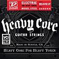 Dunlop Heavy Core Electric Guitar Strings - Heaviest Gauge thumbnail