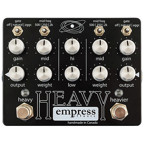 Empress Effects Heavy Dual-Channel Distortion Guitar Effects Pedal