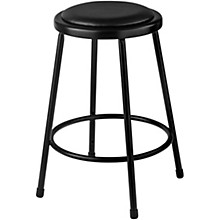 National Public Seating Heavy Duty Vinyl Padded Steel Stool