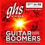 GHS Heavyweight Boomers Custom Lo-Tune Electric Guitar Strings Heavy