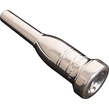 Heavyweight Series Trumpet Mouthpiece in Silver 13A4a Silver
